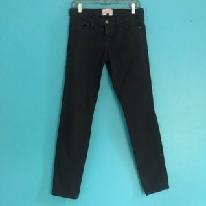 Current Elliott the Ankle Skinny jeans black